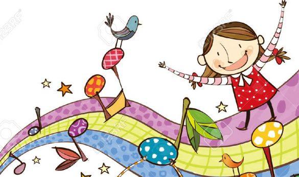 28701372-Le-point-de-vue-des-enfants-jouent-de-la-musique-Banque-d'images